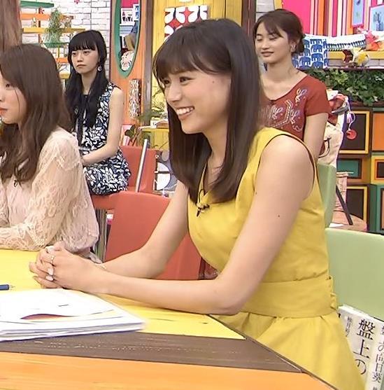 笹川友里 ノースリーブの白くてきれいな腕キャプ画像(エロ・アイコラ画像)