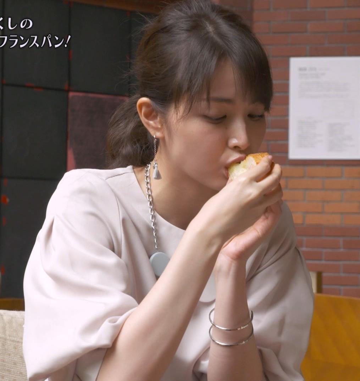 佐藤めぐみ 美人女優の食べているところ