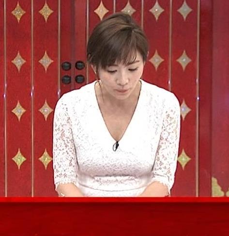 高島彩 胸チラ画像3