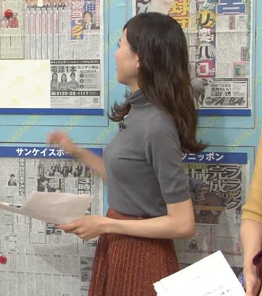 笹川友里 ニットおっぱい♡デカ乳がエロい。キャプ画像(エロ・アイコラ画像)