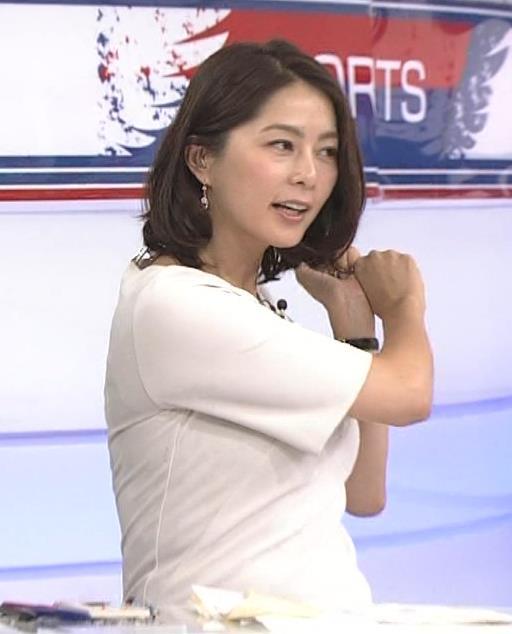 杉浦友紀 「サタデースポーツ」キャプ画像(エロ・アイコラ画像)