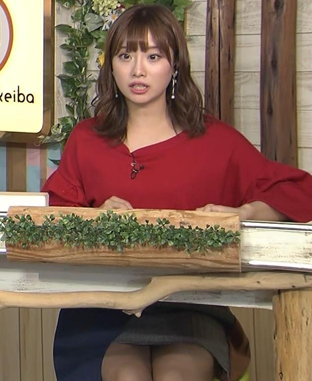 柴田阿弥 あざとそうな太もも見せミニスカートキャプ画像(エロ・アイコラ画像)