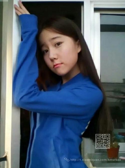 美術学校に通う中国の美少女女子学生の自分撮りヌード映像が流出 2