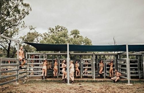 オーストラリアの獣医学生がチャリティのためヌードカレンダーを発売 6