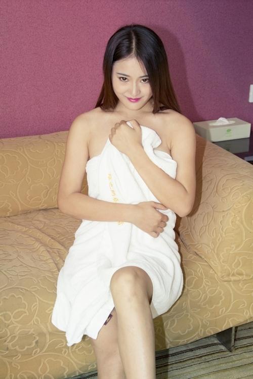 中国美女モデル 甜甜(TianTian) セクシーヌード画像  1