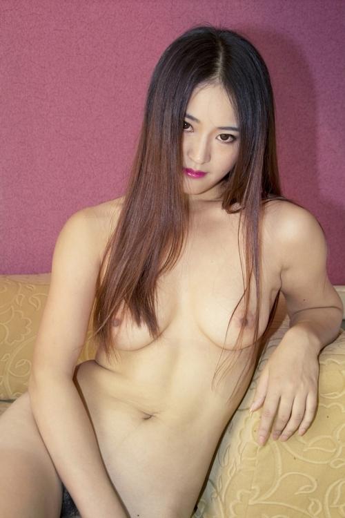 中国美女モデル 甜甜(TianTian) セクシーヌード画像  3