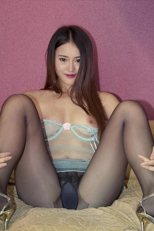 中国美女モデル 甜甜(TianTian) セクシーヌード画像  9