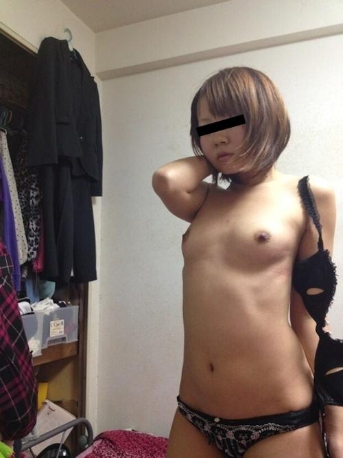 美人女子大生のストリップヌード画像 5