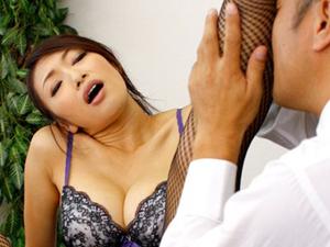 【小早川怜子】美脚女教師が校長にミニスカを注意され脚責め足コキ網タイツを穿いたままのSEXで買収