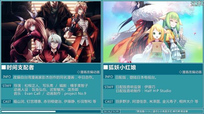 【悲報】来期のアニメ、中国に侵略される