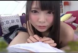 【痴女】ロリカワ美少女の寸止め淫フェラ連続ごっくん!!なつめ愛莉